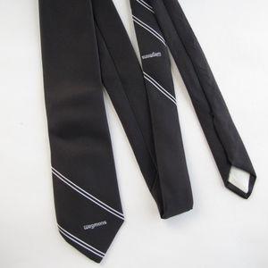 Vintage Accessories 70s Wegmans Brown Manager Uniform Tie Rare